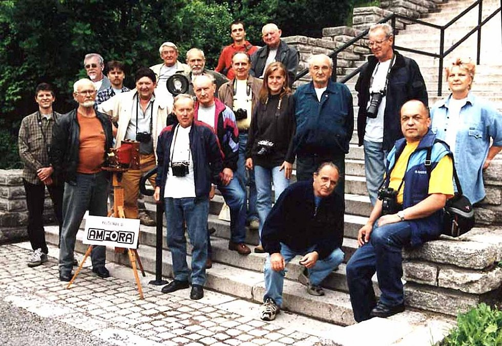 Amfora a její členové.