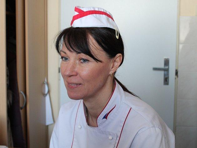 Pavlína Berzsiová, viceprezidentka Asociace kuchařů a cukrářů ČR