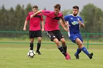 Talentovaný fotbalista i rozhodčí Jan Beneš.