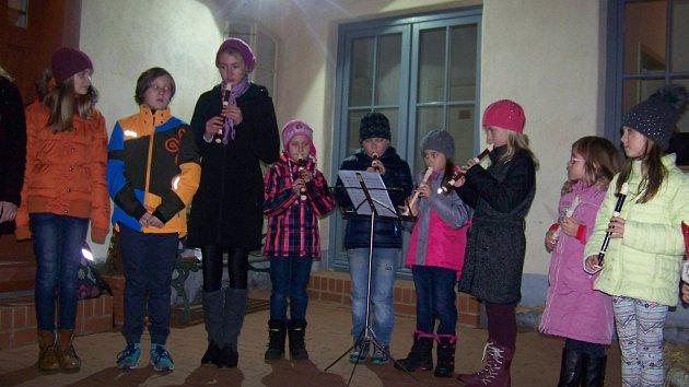 Vánoce z kufru v roubence Lechnýřovna 2016