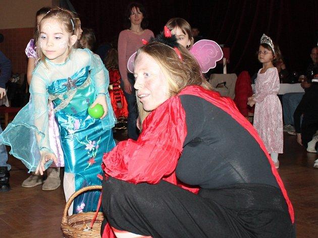 Dětský karneval v Janově