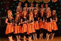 Lentilky na Mistrovství světa v line dance v německém Kalkaru