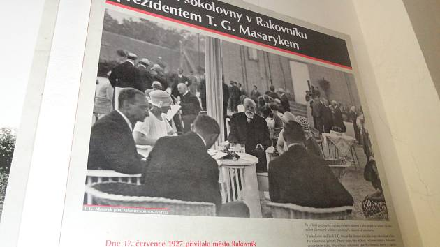 Rakovničtí Sokolové jsou dobře vidět i za hranicemi okresu, naposledy např. na Tyršově Děčíně. Stejně tak nezapomínají i na československou historii jako při nedávném výročí úmrtí prvního prezidenta republiky T. G. Masaryka, který rakovnickou sokolovnu na