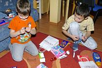 Nadílka v Dětském domově v Novém Strašecí