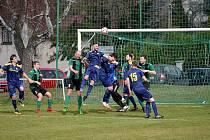 Z utkání fotbalového okresního přeboru Lubná - Olešná (2:0)
