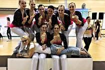 Žaneta Palčeková se svým týmem slavila zlatou medaili na republikové soutěži, ale také postup na mistrovství Evropy i světa.