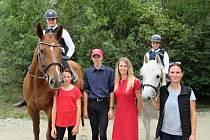 Jezdecký areál v Královicích u Slaného hostil MČR ve Working Equitation a na startu nechyběli ani jezdci a koně z hředelského Jezdeckého klubu Spongilit.