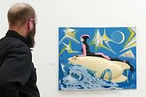 Vojtěch Horálek okomentoval svoji výstavu Sluneční lázně, která je k vidění v Nové síni Rabasovy galerie do konce března.