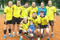 Krajská liga II. třídy, volejbal, tým Rakovníku.
