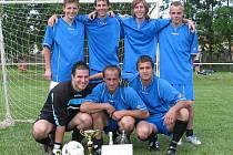 Vítězný tým Mutějovic