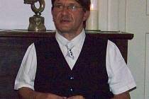 Sběratel karet Petr Bílý