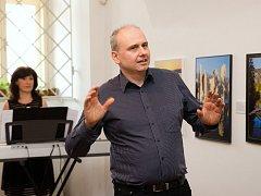 Zahájení výstavy fotografií Jiřího Rozinka