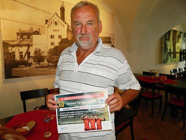 V Krušovicích došlo k předávání cen výhercům Fortuna Tip ligy.