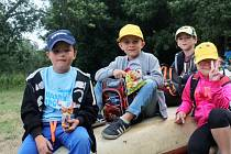 Děti z Novostrašecka na Branově