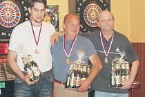 Vítězové: Marenčák, Minařík a Soukup