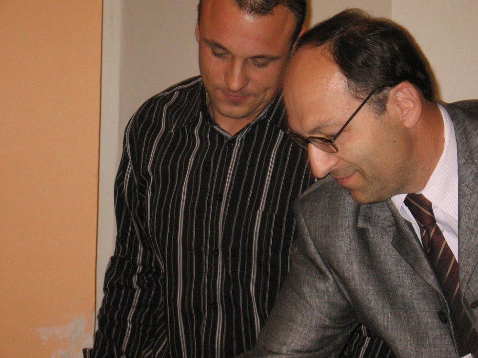 Martin Hrbek a Jiří Tláskal