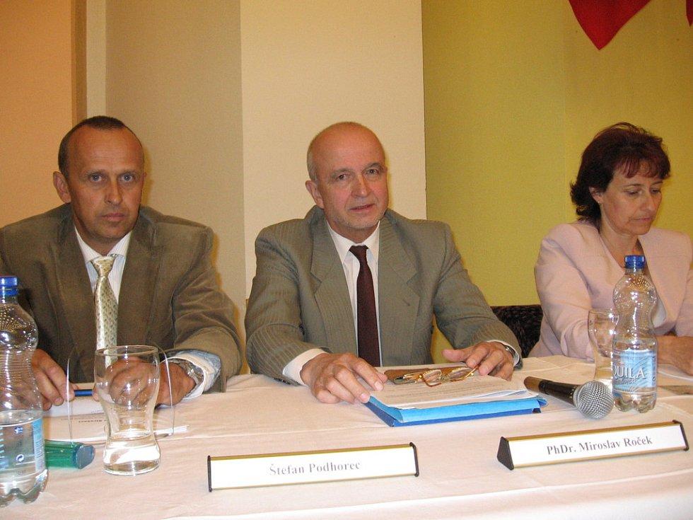 Štefan Podhorec a Miroslav Roček