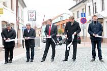 Otevření Vysoké ulice v Rakovníku po celkové rekonstrukci