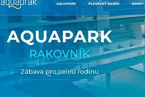 Aquaprak má již přístupné nové webové stránky.