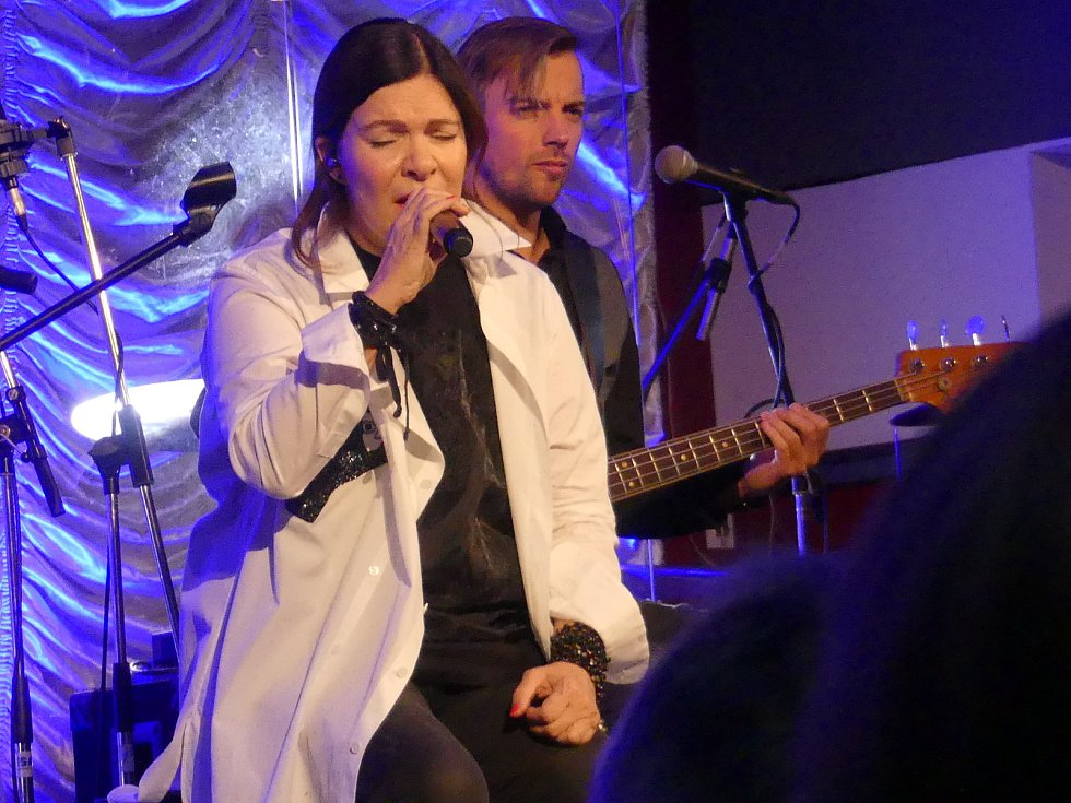 Akustický koncert Anny K. v Kulturním centru Rakovník.