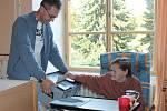 Krajské volby v Domově seniorů v Kolešovicích