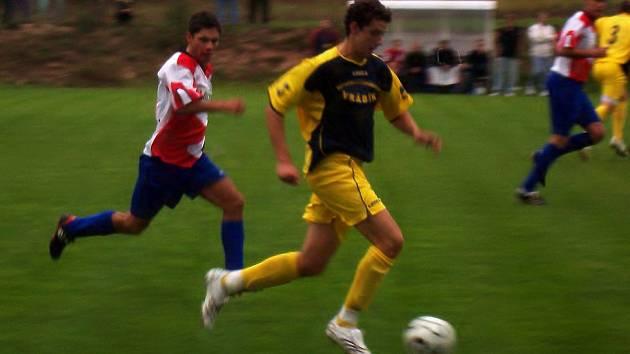 Milan Polák při jednom ze svých rychlých úniků.