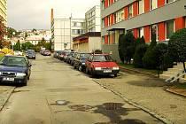 Klicperova ulice v Rakovníku.
