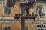 Restaurování sochy Panny Marie Immaculaty v Kněževsi