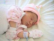 VIKTORIE LÉDLOVÁ, LUBNÁ. Narodila se 11. února 2018. Po porodu vážila 3,43 kg a měřila 51 cm. Rodiče jsou Aneta a Albert.