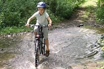 Ilustrační foto. Cyklisté míří velmi často směrem k hostinci U Rozvědčíka.
