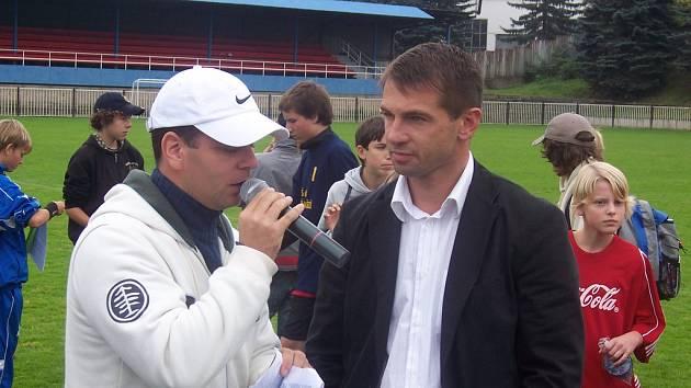 Pavel Kuka odpovídal na dotazy moderátora.