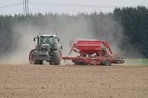 Jarní práce v Družstvu vlastníků Agro Malinová