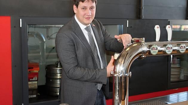 Michal Rouč, ředitel Královského pivovaru Krušovice.