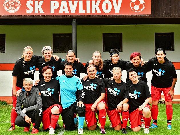 Pavlíkovské Lvice jdou do jarní části divize z prvního místa.