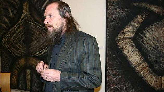 Vernisáž výstavy díla Miloslava Porcala
