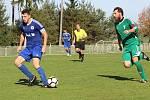 Z fotbalového utkání divize Tatran Rakovník - Český Brod (3:1)