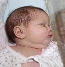 AMÁLIE KOVÁČÍKOVÁ, ŘEVNIČOV Narodila se 16. října 2017. Po porodu vážila 4,04 kg a měřila 51 cm. Rodiče jsou Lucie a Jan.