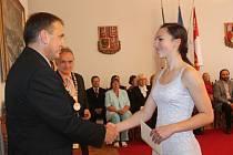 Slavnostní vítání studentů prvních ročníků Gymnázia Jana Amose Komenského v Novém Strašecí