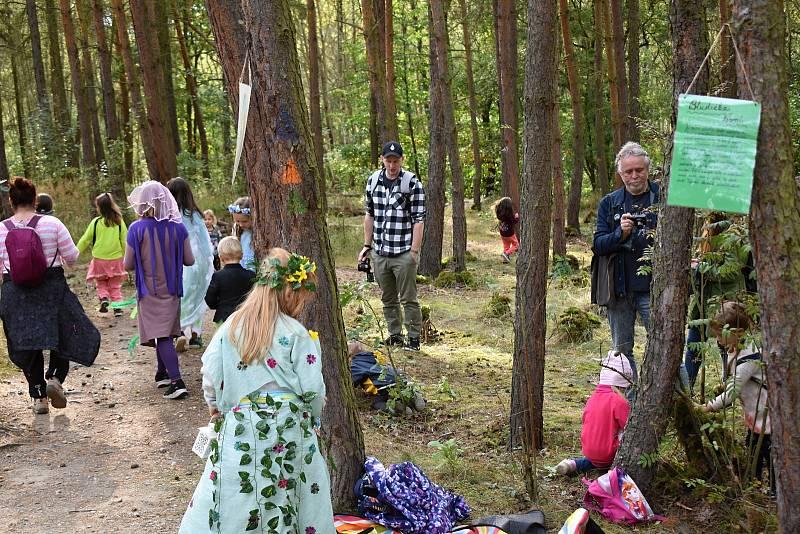 Z Kouzelného lesa a hledání houbového skřítka v Rakovníku.