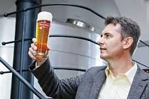 Ředitel Krušovického pivovaru Igor Mandryš.