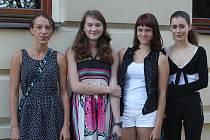 První školní den na novostrašeckém gymnáziu