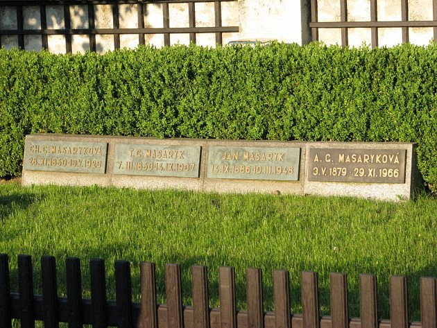 Připomínka Charlotty Garique Masarykové u příležitosti 85. výročí jejího úmrtí