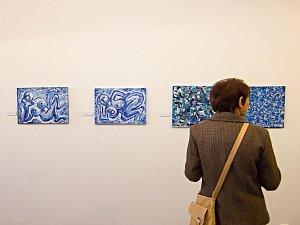 V Rakovníku si lidé mohou prohlédnout malby Tomáše Petříčka