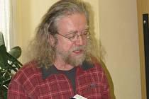 Jaroslav Hutka na rakovnickém gymnáziu