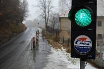Dopravní omezení na silnici z Oráčova do Jesenice.