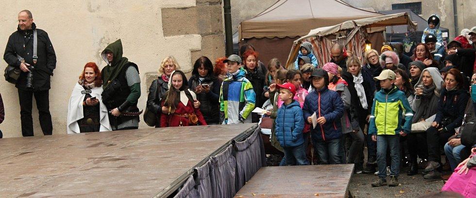 Na hradě Křivoklát se uskutečnilo 25. Křivoklání.