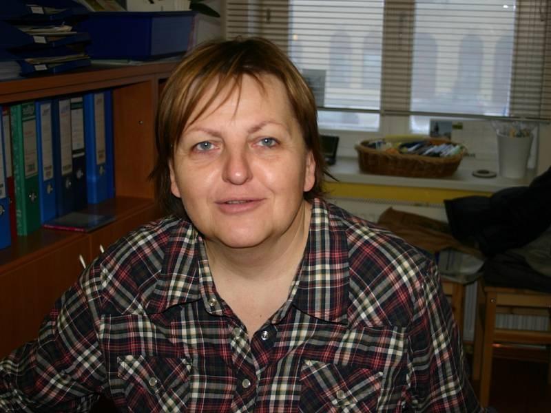 Milena Křikavová, ředitelka Městské knihovny v Rakovníku