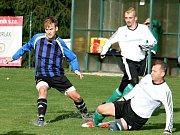 Fotbalisté rakovnické Olympie vyhráli na hřišti rezervy Zavidova 6:3, když se pěti góly blýskl kanonýr Číhař.