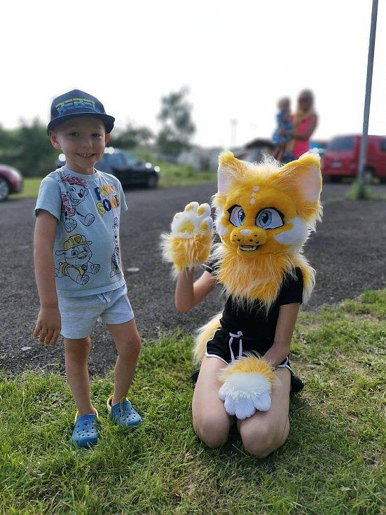 Prázdninový den dětí ve Mšeckých Žehrovicích.