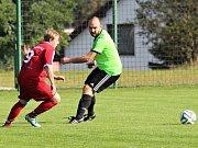 Ve šlágru 5. kola okresního přeboru zvítězily Kolešovice na Olympii po penaltách. V základní hrací době skončil duel 0:0.